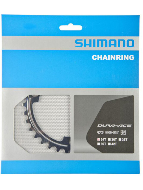Shimano Dura-Ace FC-9000 Klinge 11-speed MA sort